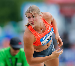 30.05.2015, Moeslestadion, Goetzis, AUT, 41. Hypo Meeting 2015, Siebenkampf der Frauen, Kugelstossen, im Bild Dafne Schippers (NED) // Dafne Schippers of Netherland during the 41. Hypo Meeting Goetzis 2013, Women' s Heptathlon, Shot put, at the Moeslestadion, Goetzis, Austria on 2015/05/30. EXPA Pictures © 2015, PhotoCredit: EXPA/ Peter Rinderer