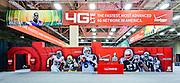 Verizon Superbowl display at the Dallas Convention Center; Pinnacle Exhibits