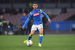 March 7, 2019 - Naples, Naples, Italy - Dries Mertens of SSC Napoli during the UEFA Europa League match between SSC Napoli and RB Salzburg at Stadio San Paolo Naples Italy on 7 March 2019. (Credit Image: © Franco Romano/NurPhoto via ZUMA Press)