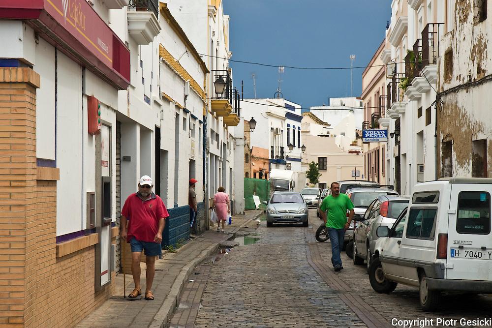 Hiszpania miasteczko Isla Cristina 08.2007.fot Piotr Gesicki Spain Andalucia Costa de la Luz Isla Cristina town photo Piotr Gesicki