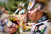 Cheyenne Frontier Days Indian Village, Native American Wind River Dancers, Arapaho  and Shoshone Tribes from Wyoming.