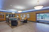 Architectural interior image of Post Massachusetts Ave apartments in Washington DC by Jeffrey Sauers of Commercial Photographics