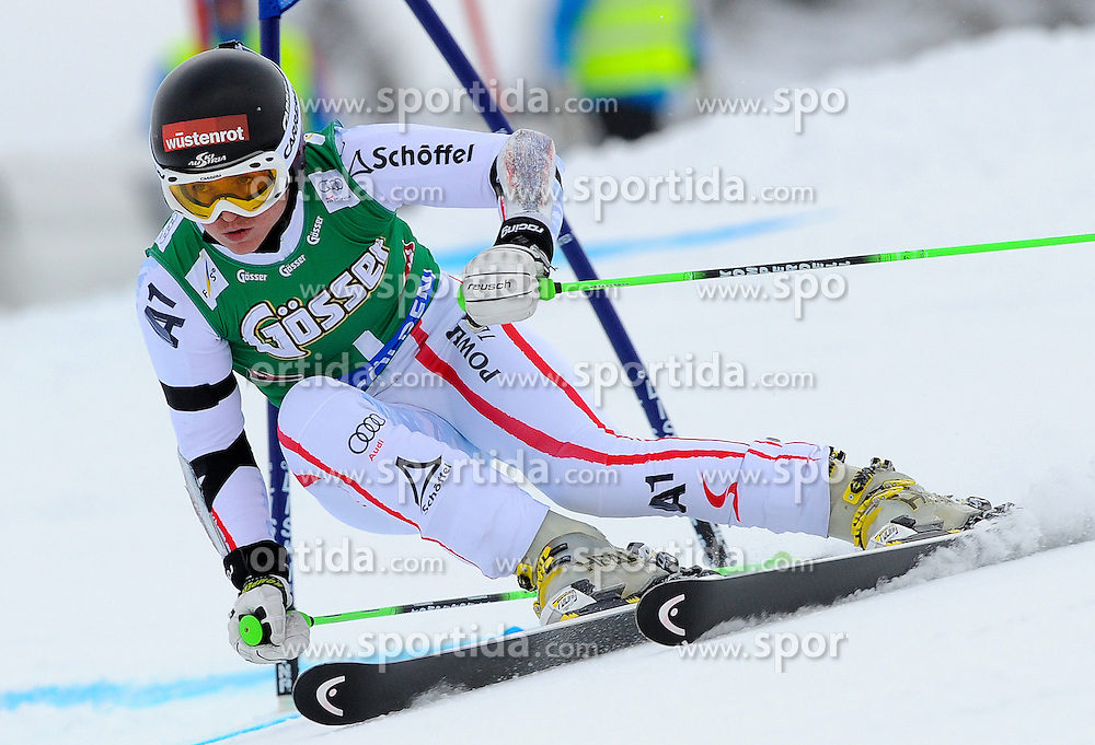 27.10.2012, Rettenbachferner, Soelden, AUT, FIS Weltcup, Ski Alpin, Riesenslalom, Damen, 1. Durchgang, im Bild Elisabeth Goergl (AUT) // Elisabeth Goergl of Austria during first Run of Ladies Giant Slalom of the FIS Ski Alpine Worldcup at Rettenbach Glacier, Soelden, Austria on 2012/10/27. EXPA Pictures © 2012, PhotoCredit: EXPA/ Erich Spiess