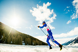 January 31, 2018 - Goms, Switzerland - Stefan Zelger of Italy competes in the men's 15km classic technique interval start during the FIS U23 Cross-Country World Ski Championships on January 31, 2018 in Obergoms. (Credit Image: © Vegard Wivestad Gr¯Tt/Bildbyran via ZUMA Press)