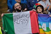 Foto Alfredo Falcone - LaPresse<br /> 14/02/2016 Roma ( Italia)<br /> Sport Rugby<br /> Italia - Inghilterra<br /> Rugby RBS Sei Nazioni - Stadio Olimpico di Roma<br /> Nella foto:tifosi<br /> <br /> Photo Alfredo Falcone - LaPresse<br /> 14/02/2016 Roma (Italy)<br /> Sport Rugby<br /> Italy - England<br /> Rugby RBS 6 Nations - Olimpico Stadium of Roma<br /> In the pic:supporters