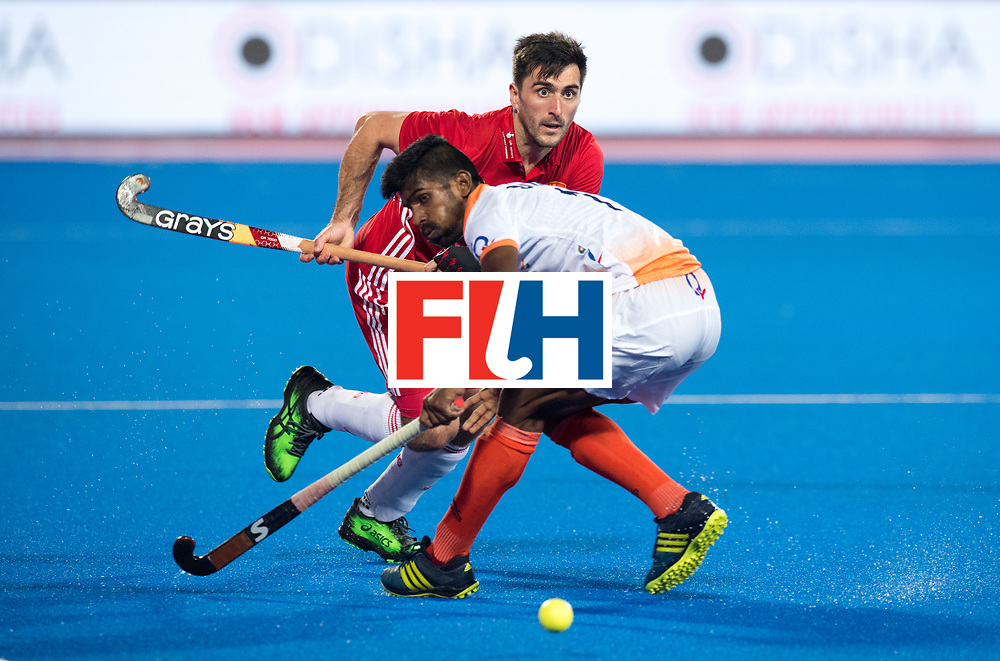 Odisha Men's Hockey World League Final Bhubaneswar 2017<br /> Match id:05<br /> 06 IND v ENG (Pool B)<br /> Foto: Adam Dixon (Eng) <br /> WORLDSPORTPICS COPYRIGHT FRANK UIJLENBROEK