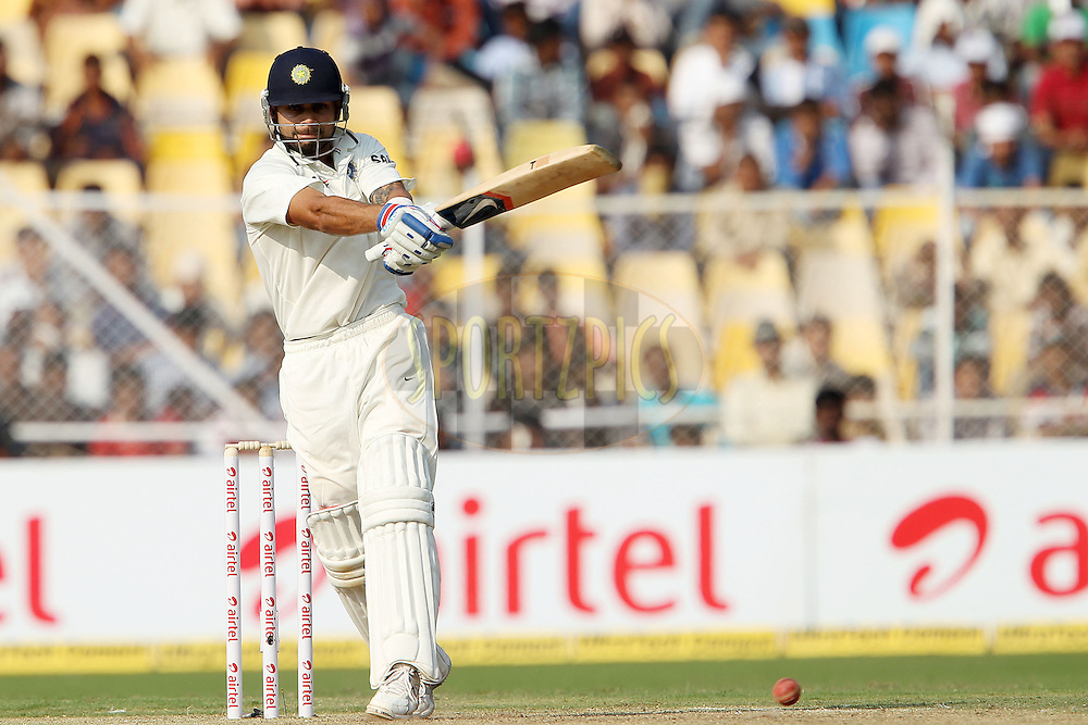 Virat Kohli of India during day one of the 1st Airtel Test Match between India and England held at the Sadar Patel Stadium in Ahmedabad, Gujarat, India on the 15th November 2012...Photo by Ron Gaunt/ BCCI/ SPORTZPICS