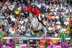Fuchs Martin, SUI, Clooney<br /> World Equestrian Games - Tryon 2018<br /> © Hippo Foto - Stefan Lafrentz<br /> 23/09/2018