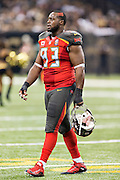 NEW ORLEANS, LA - SEPTEMBER 20:  Gerald McCoy #93 of the Tampa Bay Buccaneers walks off the field during a game against the New Orleans Saints at Mercedes-Benz Superdome on September 20, 2015 in New Orleans Louisiana.  The Buccaneers defeated the Saints 26-19.  (Photo by Wesley Hitt/Getty Images) *** Local Caption *** Gerald McCoy