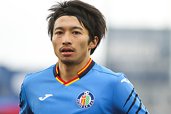 December 15, 2018 - Getafe, Madrid, Spain - Gaku Shibashaki of Getafe in action during La Liga Spanish championship, , football match between Getafe and Real Sociedad, December 15, in Coliseum Alfonso Perez in Getafe, Madrid, Spain. (Credit Image: © AFP7 via ZUMA Wire)