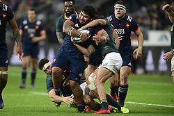 November 18, 2017 - Paris, France, France - Sebastien Taofifenua (Fra) vs Dillyn Leyds  (Credit Image: © Panoramic via ZUMA Press)