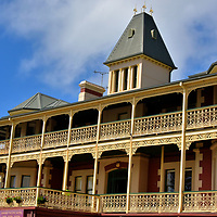 Grand Pacific Hotel in Lorne on Great Ocean Road, Australia<br />