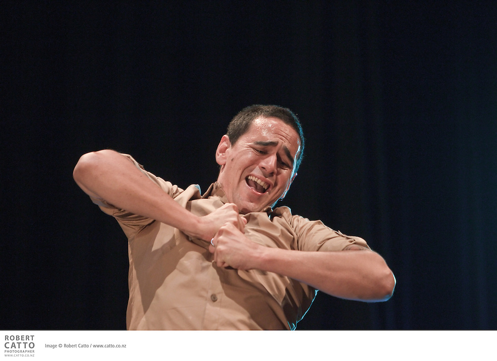 Written by Miria George and Jamie McCaskill, He Reo Aroha weaves the beauty of original waiata, with a compelling story of love and music. Childhood sweethearts Kaia and Pascoe were always worlds apart. Kaia had trained to sing, with Sister Mere grooming her voice for greatness. Working long, hard days on the fishing boats with his father, a song was never far from Pascoe's lips...In the heart of Ti Kapa, one warm summer's night, their voices entwine sealing a love that will last a lifetime. Choosing music over love, Kaia leaves for Europe in search of a career that offers privilege and prestige. Broken-hearted, Pascoe is left behind in Ti Kapa to follow in his father's footsteps...When life doesn't bring Kaia and Pascoe all they hoped for, they soon discover it is music that will get them through and love that will bring them back together. Directed by Hone Kouka, He Reo Aroha has travelled to Australia, Hawai'i and Canada.