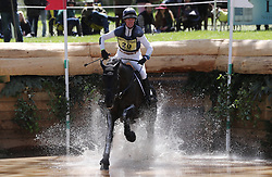 Bulana ridden by Nicola Wilson on the Cross Country during day four of the 2019 Mitsubishi Motors Badminton Horse Trials at The Badminton Estate, Gloucestershire. PRESS ASSOCIATION Photo. Picture date: Saturday May 4, 2019. See PA story EQUESTRIAN Badminton. Photo credit should read: David Davies/PA Wire