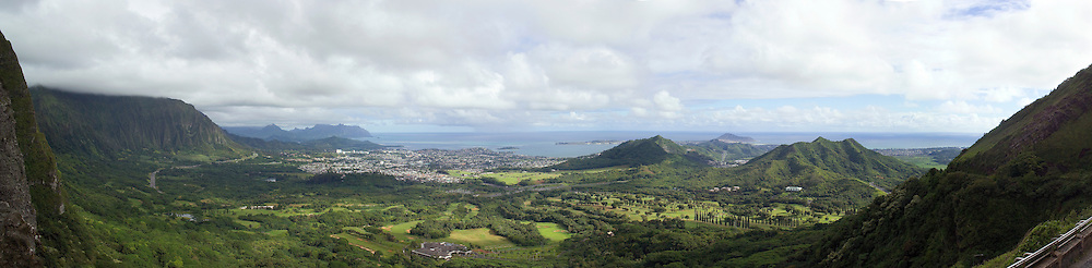 Pali Lookout on Oahu