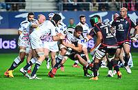 Alexandre FLANQUART - 24.04.2015 - Stade Francais / Stade Toulousain - 23eme journee de Top 14<br />Photo : Dave Winter / Icon Sport