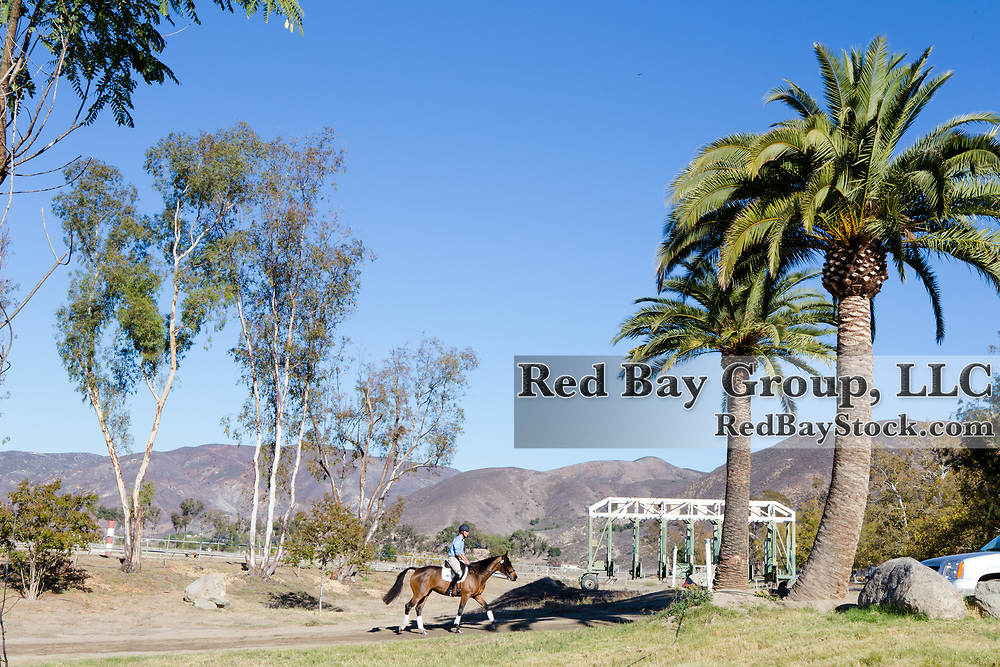Venue at the Galway Downs International Three Day Event in Temecula, California.