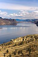 Kamloops Lake from Trans Canada Viewpoint