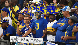 Cape Town-180804 Cape Town city fans cheer for their team against Supersport in the first game of the 2018/2019 season at Cape Town Stadium.photograph:Phando Jikelo/African News Agency/ANAr