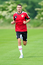 Bristol City's James Wilson - Photo mandatory by-line: Dougie Allward/JMP - Tel: Mobile: 07966 386802 27/06/2013 - SPORT - FOOTBALL - Bristol -  Bristol City - Pre Season Training - Npower League One