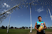 Daniel Motlop during Port Adelaide team media day in Adelaide as they prepare for 2007 AFL Grand Final.