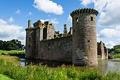 SCOTLAND: Caerlaverock Castle