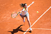 Paris, France. Roland Garros. June 2nd 2013.<br /> Italian player Roberta VINCI against Serena WILLIAMS