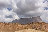 Historische Gräber im Wadi Shab