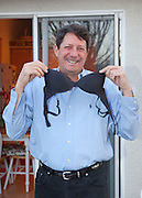 Feb 29, 2012 - Fair Oaks, California, USA - The straps from Janette DeGrace's bra helped her and her boyfriend survive three terrifying days in snowbound mountains. The incredible true-life survival story unfolded after Janette, 52, and her boyfriend, Mark Schroeder, 55, took off for a romantic Valentine's Day drive in California's Sierra mountains. Mark made waterproof snowshoes with a plastic trash bag and used Janette's bra straps as laces as he set off to get help.<br /> (Credit Image: © Charr Crail/Exclusivepix)