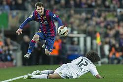 March 24, 2015 - foto IPP/Gianluca Rona   Barcelona   22/03/2015    Campionato spagnolo di calcio, Liga BBVA, clasíco, FC Barcellona-Real Madrid, nella foto:   Lionel Messi. (Credit Image: © Italy Photo Press via ZUMA Press)