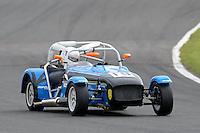 #19 Donald Henshall Caterham Tracksport during the Avon Tyres Caterham Tracksport Championship at Oulton Park, Little Budworth, Cheshire, United Kingdom. August 13 2016. World Copyright Peter Taylor/PSP.