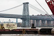 Williamsburg Bridge in Williamsburg, Brooklyn Saturday, February 24, 2018. (©2018 Wendelin Ray Photography)