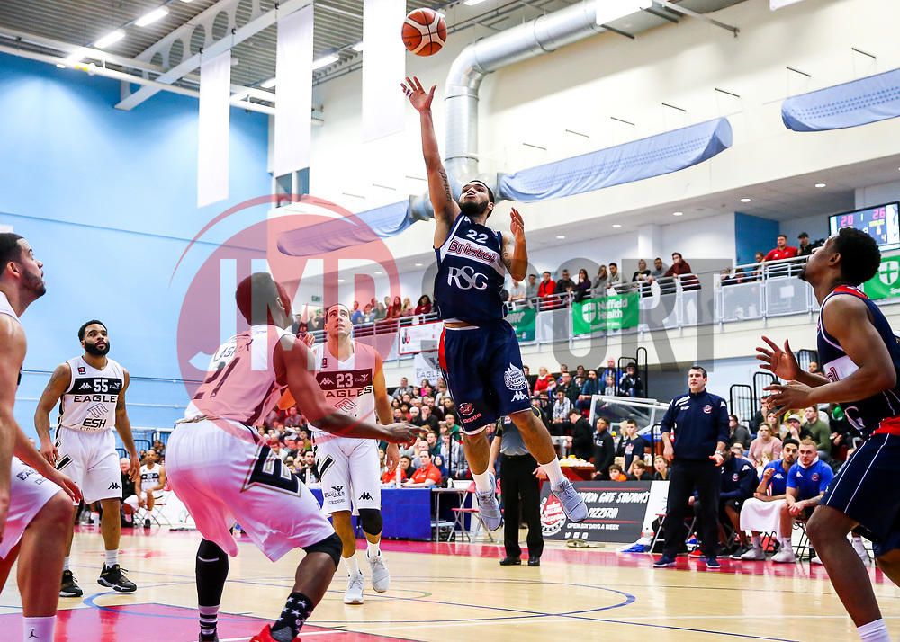 Adam Weary of Bristol Flyers - Rogan/JMP - 06/01/2018 - BASKETBALL - SGS Wise Arena - Bristol, England. - Bristol Flyers v Newcastle Eagles - British Basketball League.