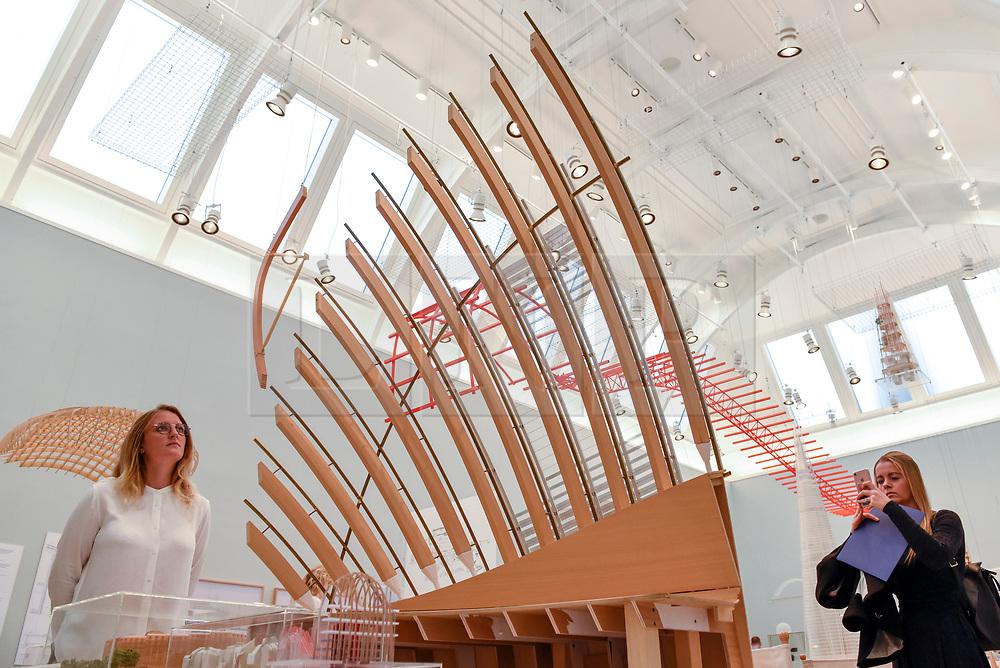 Interior of exhibition