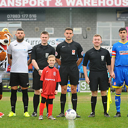 TELFORD COPYRIGHT MIKE SHERIDAN mascot during the Vanarama Conference North fixture between AFC Telford United and Alfreton Town at the New Bucks Head Stadium on Thursday, December 26, 2019.<br />