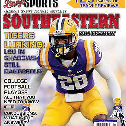 Lindys Sports Southeastern Football 2014 Cover - Jalen Mills LSU
