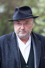 OCT 17 2014 George Galloway appears at the Royal Courts of Justice