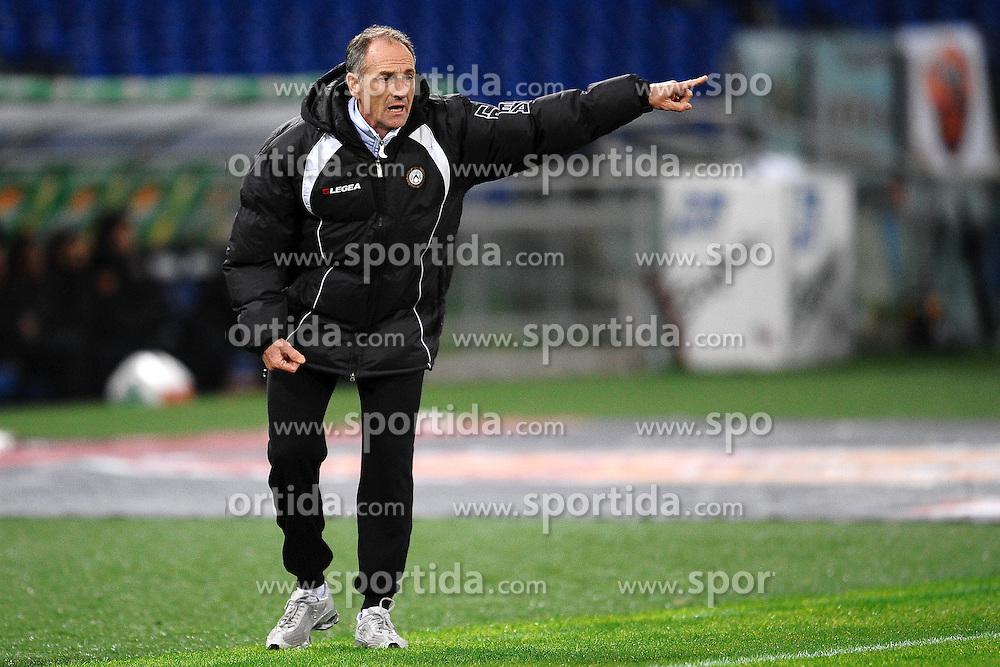 20.11.2010, Stadio Olimpico, Rom, ITA, Serie A, AS Rom vs Udinese Calcio, im Bild Francesco GUIDOLIN allenatore Udinese Coach. EXPA Pictures © 2010, PhotoCredit: EXPA/ InsideFoto/ Andrea Staccioli +++++ ATTENTION - FOR AUSTRIA/AUT, SLOVENIA/SLO, SERBIA/SRB an CROATIA/CRO CLIENT ONLY +++++