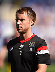 Dean Bowditch of Milton Keynes Dons - Mandatory by-line: Paul Knight/JMP - Mobile: 07966 386802 - 22/08/2015 -  FOOTBALL - Madejski Stadium - Reading, England -  Reading v MK Dons - Sky Bet Championship