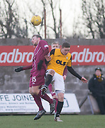 Arbroath&rsquo;s Josh Skelly and East Fife&rsquo;s Jamie Insall - East Fife v Arbroath, SPFL League Two at New Bayview<br /> <br />  - &copy; David Young - www.davidyoungphoto.co.uk - email: davidyoungphoto@gmail.com