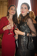 ANNA DANSHINA; ELENA SHCHUKINA, The 20th Russian Summer Ball, Lancaster House, Proceeds from the event will benefit The Romanov Fund for RussiaLondon. 20 June 2015