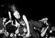 Punk Crowdsurfing, Kilburn National , London, 1990s.