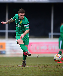 CHARLIE SMITH HITCHIN TOWN Chesham United v Hitchin Town Evostik Southern Premier Division, Saturday 10th March 2018, Score 0-0