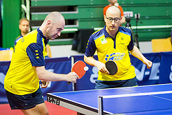 (Team SWE) AZULAY Michael Robert Oskar and MOLANDER Peter in action during 15th Slovenia Open - Thermana Lasko 2018 Table Tennis for the Disabled, on May 10, 2018 in Dvorana Tri Lilije, Lasko, Slovenia. Photo by Ziga Zupan / Sportida