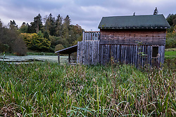 Pictured; The boathouse<br /> <br /> First mention of the lands of Fingask occur in the Foundation Charter of the Abbey of Scone in 1115 by Alexander I. St. Peters Well, in the dell below the Castle, has been a place of pilgrimage since the days that pilgrims would land at Port Allan on the Tay to walk to the shrine of St. Queen Margaret at Dunkeld.<br /> <br /> The oldest part of the Castle was built by Partick Bruce in 1594. The Threiplands first came to Fingask at the end of the 16th Century, when Partick Threipland married a Miss Bruce. The Bruces had lived at Fingask since at least the 14th Century. During the 18th Century Fingask was plundered and occupied by Government Dragoons.<br /> <br /> It was confiscated by the Crown as one of the forfeited estates as a result of the Threipland family's support of the Jacobite cause. It was repurchased by Sir Stuart Threipland in 1783 and remained in the Threipland family until the early 1920's when it was purchased by Brian Gilroy who was responsible for extensive renovations and restoration work.<br /> <br /> The Castle returned to Threipland ownership in 1968. Eminent visitors have included James VIII in 1716, Bonny Prince Charlie in 1745 and Sir Walter Scott. The Threipland's unwise political choices and the oddities of life have meant that the Threipland family have bought Fingask four times in the last 400 years.