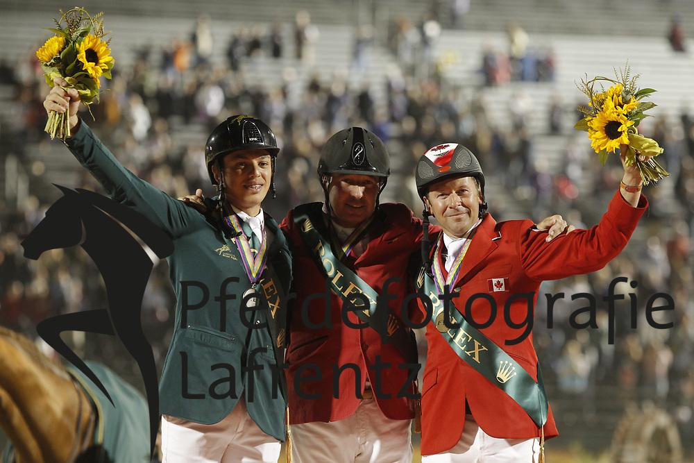 AL SHARBATLY Abdullah, LAMAZE Eric, LE JEUNE Philippe<br /> Kentucky - Alltech FEI WEG 2010<br /> /Stefan Lafrentz
