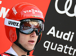 17.12.2016, Nordische Arena, Ramsau, AUT, FIS Weltcup Nordische Kombination, Skisprung, im Bild Vinzenz Geiger (GER) // Vinzenz Geiger of Germany during Skijumping Competition of FIS Nordic Combined World Cup, at the Nordic Arena in Ramsau, Austria on 2016/12/17. EXPA Pictures © 2016, PhotoCredit: EXPA/ Martin Huber