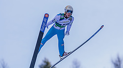 10.01.2015, Kulm, Bad Mitterndorf, AUT, FIS Ski Flug Weltcup, Bewerb, im Bild Thomas Diethart (AUT) // soars to the Air during his Competition Jump of the FIS Ski Flying World Cup at the Kulm, Bad Mitterndorf, Austria on 2015/01/10, EXPA Pictures © 2015, PhotoCredit: EXPA/ Dominik Angerer
