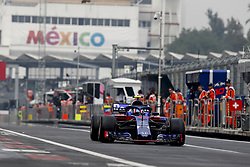 October 27, 2018 - Mexico-City, Mexico - Motorsports: FIA Formula One World Championship 2018, Grand Prix of Mexico, .#10 Pierre Gasly (FRA, Red Bull Toro Rosso Honda) (Credit Image: © Hoch Zwei via ZUMA Wire)