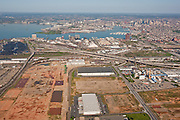 Aerial Photo of Duke properties with Port of Baltimore in Background